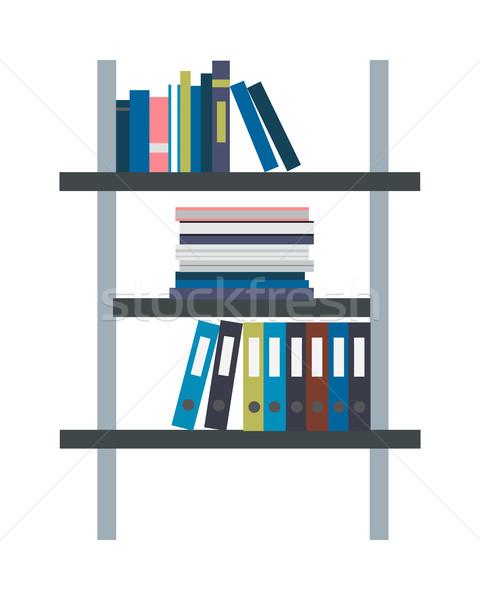 стойку дизайна хранения архив документы стиль Сток-фото © robuart