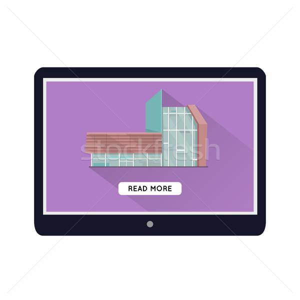 ストックフォト: 商業ビル · Webデザイン · テンプレート · ウェブ