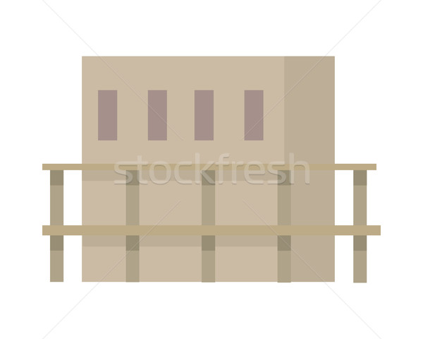 Début nouvelle bâtiment design commencer création Photo stock © robuart