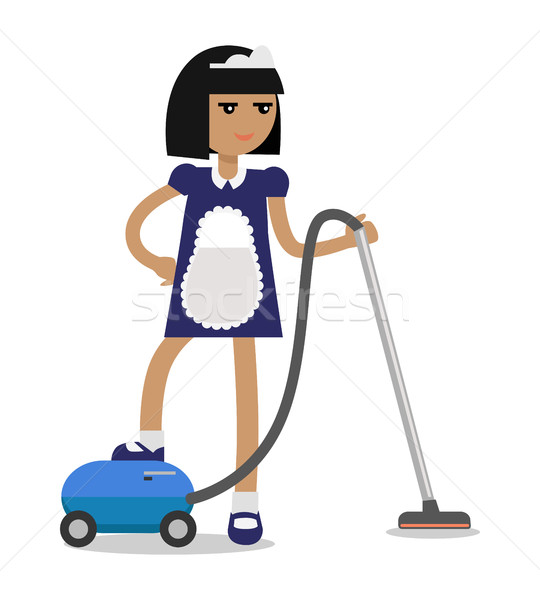 House Cleaning Personnel Vector Concept  Stock photo © robuart