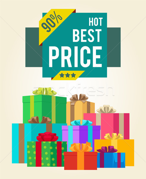 Hot Best Price Discounts Super Final Total 90 Sale Stock photo © robuart