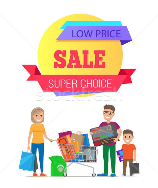 Szuper választás olcsó akció árengedmény promo Stock fotó © robuart