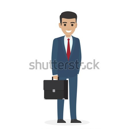 Smiling Manager or Administering in Business Suit Stock photo © robuart