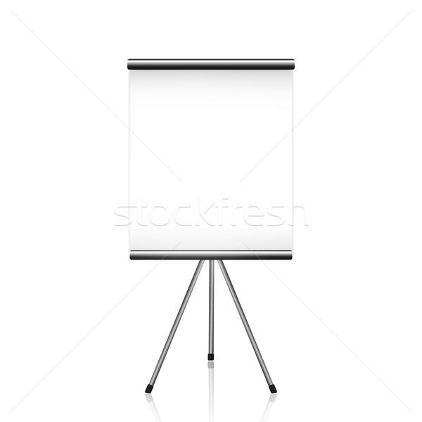Proyector Screen blanco fondo marco Foto stock © robuart