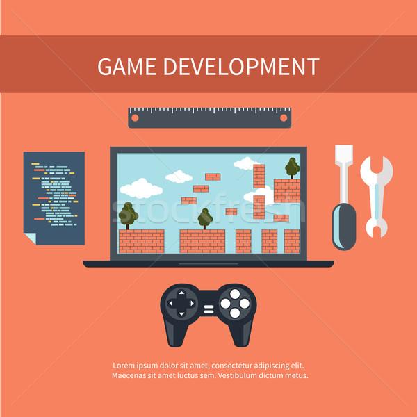 Game development concept Stock photo © robuart