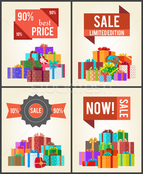 90 Best Price Limited Edition Total Sale Shop Now Stock photo © robuart