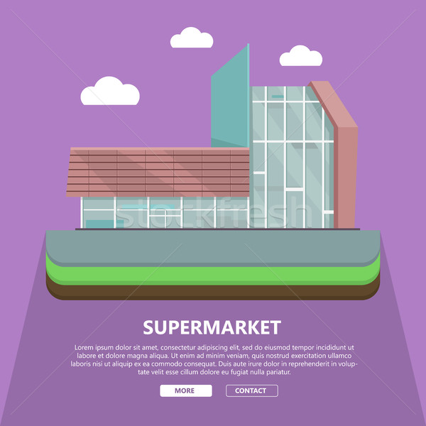 áruház háló sablon terv oldal szöveg Stock fotó © robuart