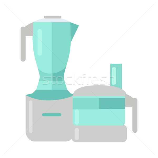 Food Processor. Electric Mixer. Plastic Blender. Stock photo © robuart