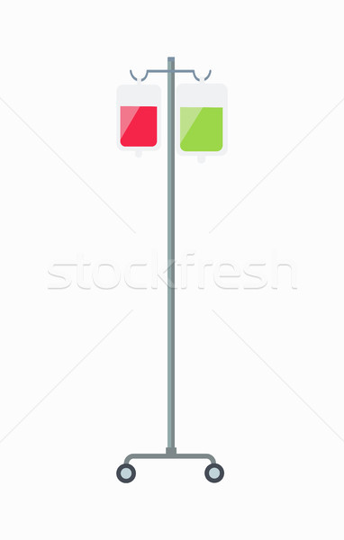 Dropper Medical Equipment Vector Illustration Stock photo © robuart
