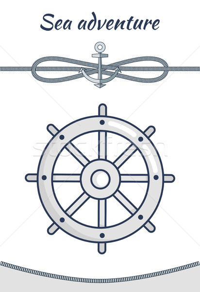 Sea Adventure, Vector Cordage Ropes Collection Stock photo © robuart