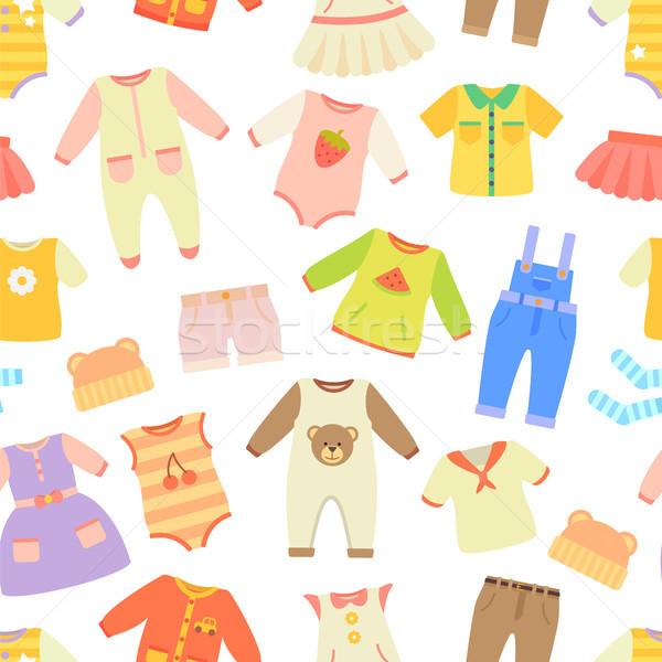 赤ちゃん 服 ドレス ズボン ストックフォト © robuart