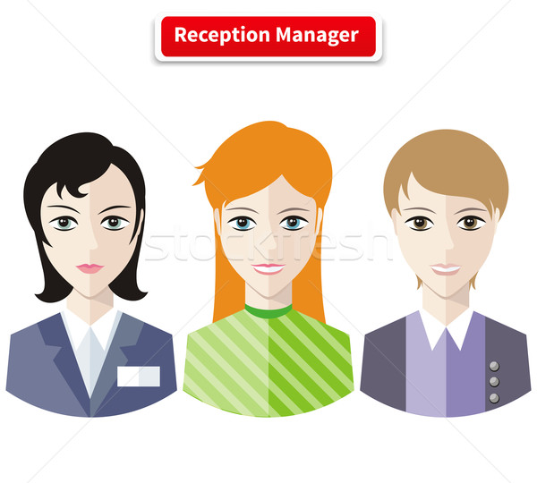 Reception Manager Stock photo © robuart