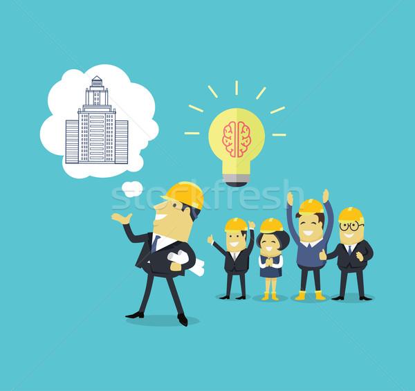 Implementation Ideas Architect Stock photo © robuart