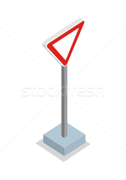 Give Way - Traffic Sign Stock photo © robuart