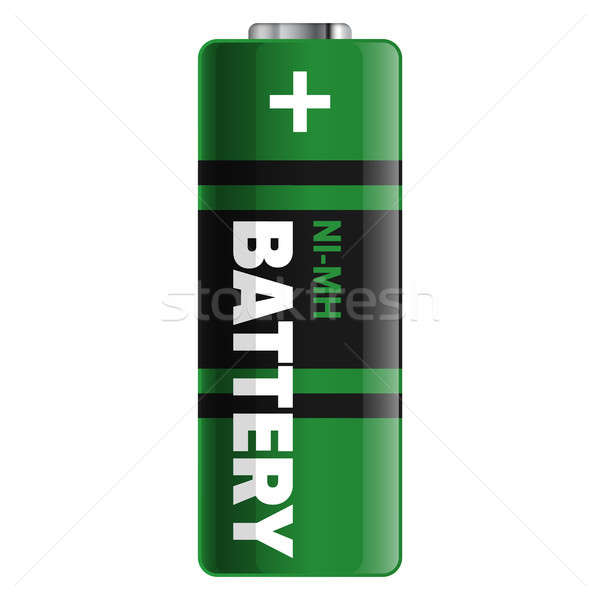 Powerful and Compact NI-MH Battery Illustration Stock photo © robuart