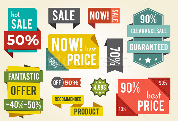 Most legjobb ár vásár hirdetés izolált fehér Stock fotó © robuart