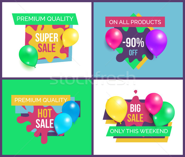 Premium Quality Total Sale on All Products 90 Off Stock photo © robuart