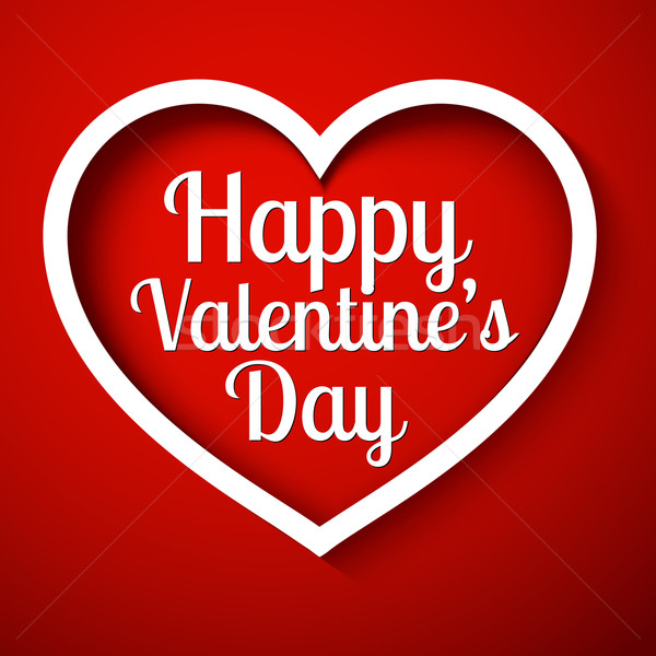 Happy Valentine's Day Stock photo © robuart