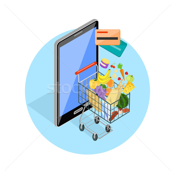 Concept of Shopping Internet Shop Stock photo © robuart