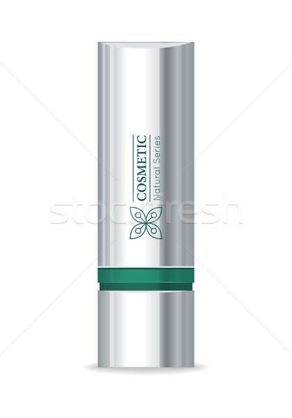 Rossetto design cosmetici prodotto splendente metallico Foto d'archivio © robuart
