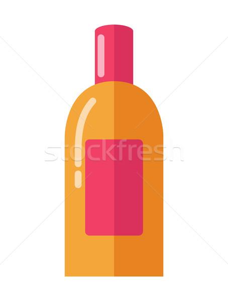 Nagy fényes fényes üveg puha bőr Stock fotó © robuart