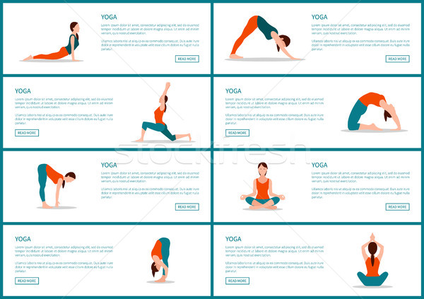 Photo stock: Yoga · ensemble · web · femme