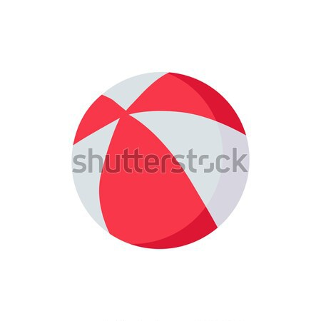 Colorful Beach Ball Stock photo © robuart