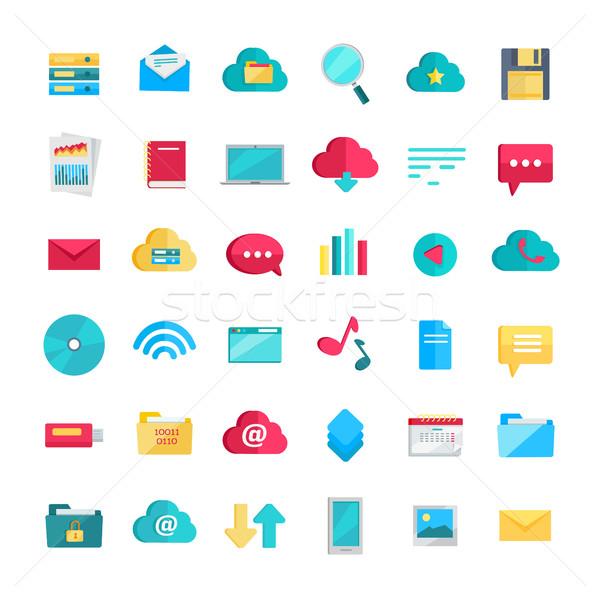 Web Icons Set Stock photo © robuart