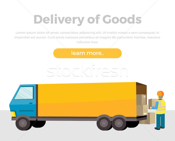 Delivery of Goods Stock photo © robuart