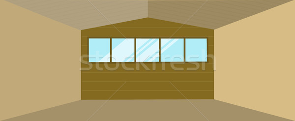 Warehouse Hangar Building Stock photo © robuart