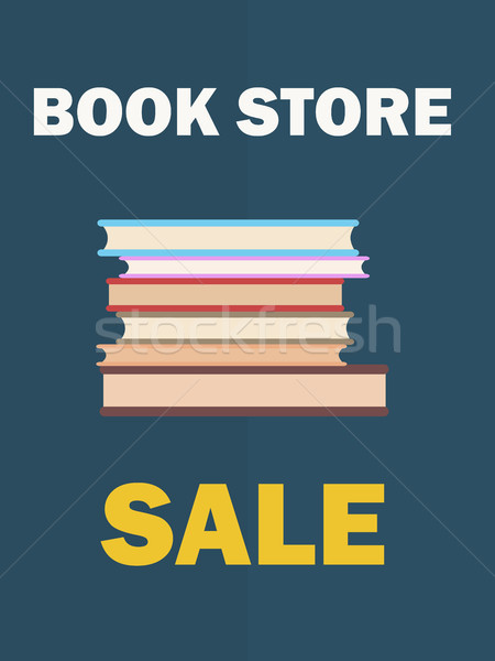 Banner Dedicated to International Book Day Vector Stock photo © robuart