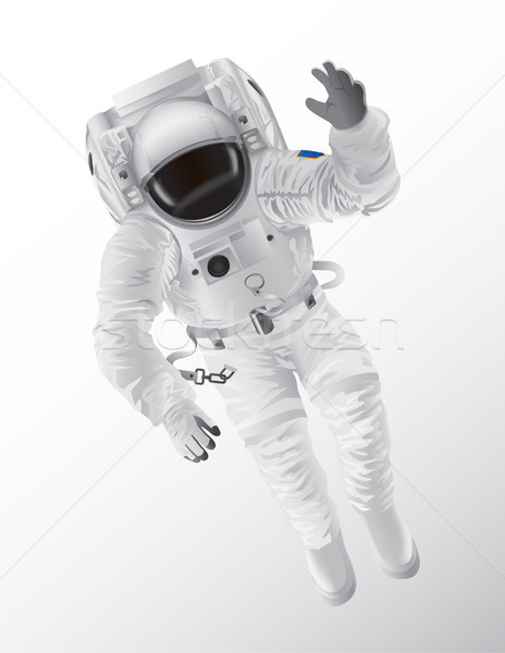 Professional Spaceman in Modern Pressure Suit Stock photo © robuart