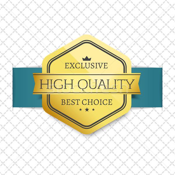 Esclusivo alto qualità scelta premio Foto d'archivio © robuart