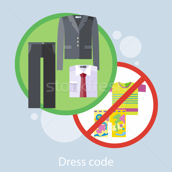 Dress Code Concept Stock photo © robuart