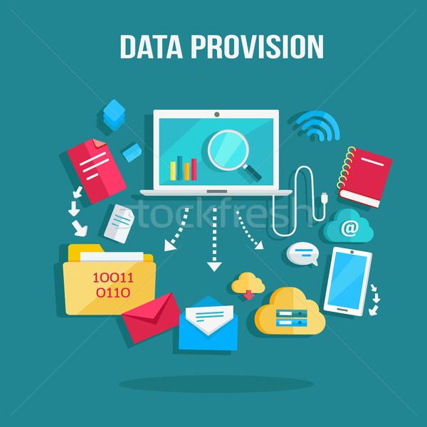Data Provision Banner Stock photo © robuart