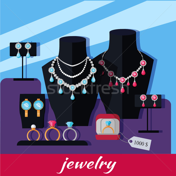 Jewelry Shop Banner Stock photo © robuart