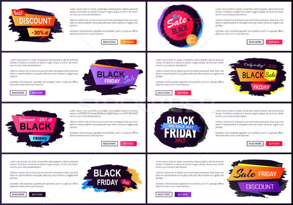 Hoy black friday venta Internet texto Foto stock © robuart