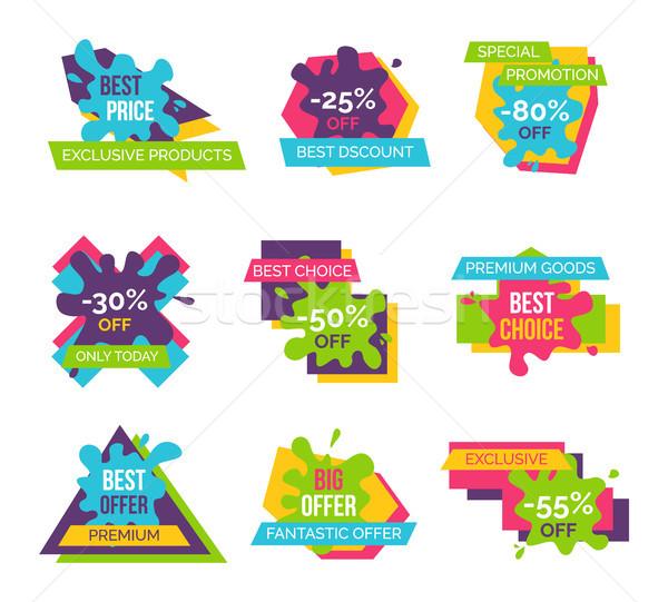 プレミアム ホット スーパー 販売 セット ストックフォト © robuart