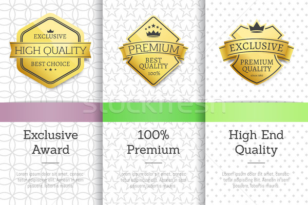 Exclusive Premium Quality Vector Illustration Stock photo © robuart
