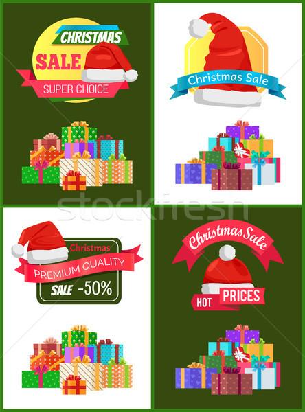 Toplama Noel satış promo Stok fotoğraf © robuart