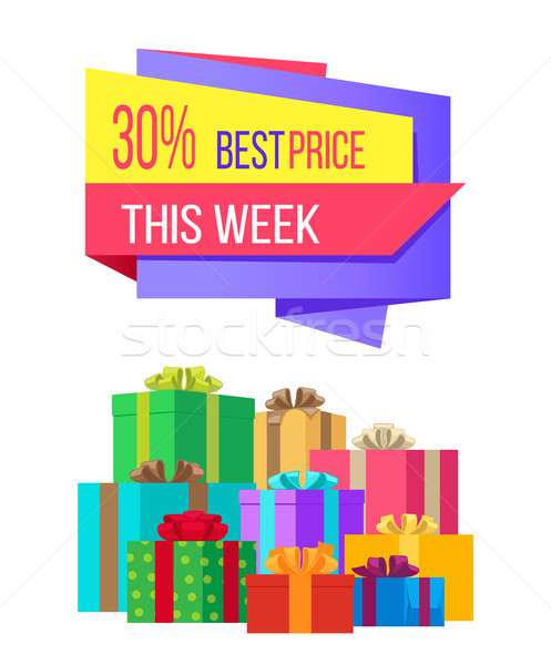 This week best price 30 off special exclusive offer Stock photo © robuart