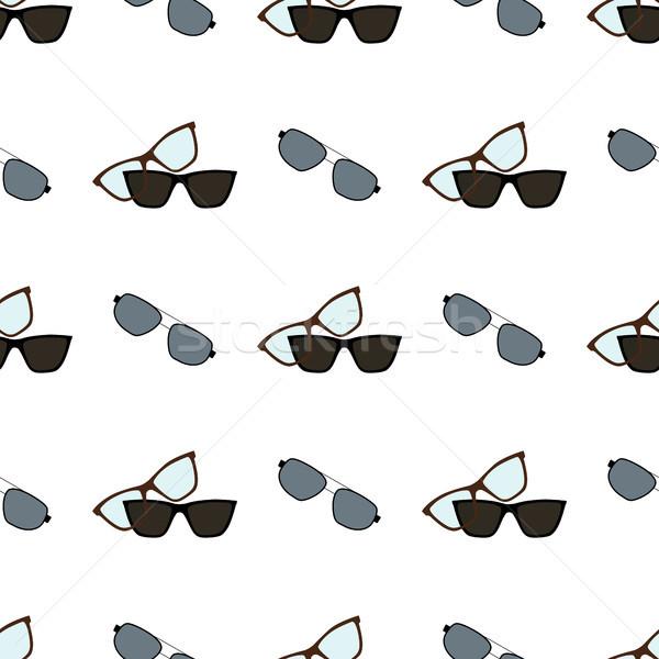Szemüveg szemüveg minta napszemüveg tárgyak használt Stock fotó © robuart