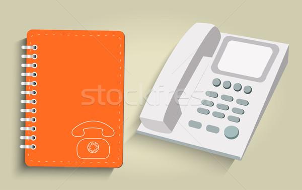 телефон ежедневно служба интернет дизайна технологий Сток-фото © robuart