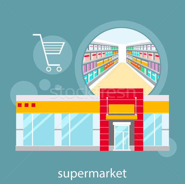 General store, shopping mall and fashion store Stock photo © robuart