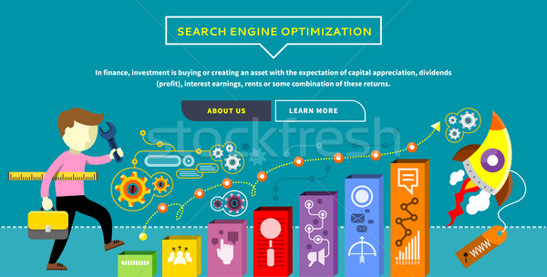 SEO Optimization Concept Stock photo © robuart