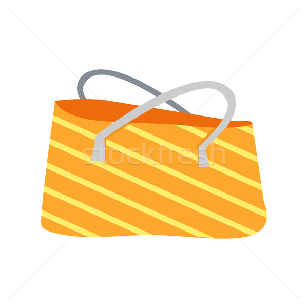 Striped Summer Beach Bag Stock photo © robuart