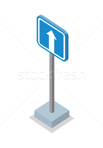 One Way Traffic - Road Sign Stock photo © robuart