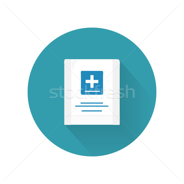 First Aid Kit Vector Illustration In Flat Design Stock photo © robuart