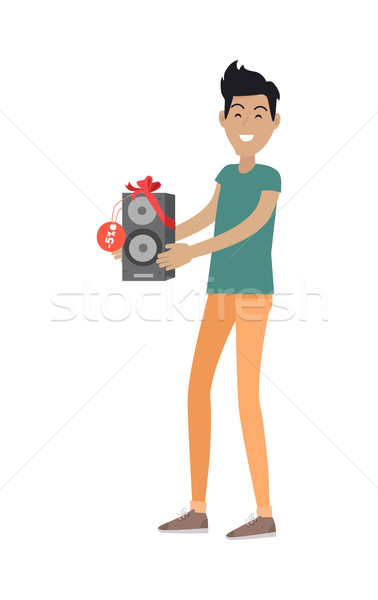 Sale in Electronics Store Flat Vector Concept Stock photo © robuart