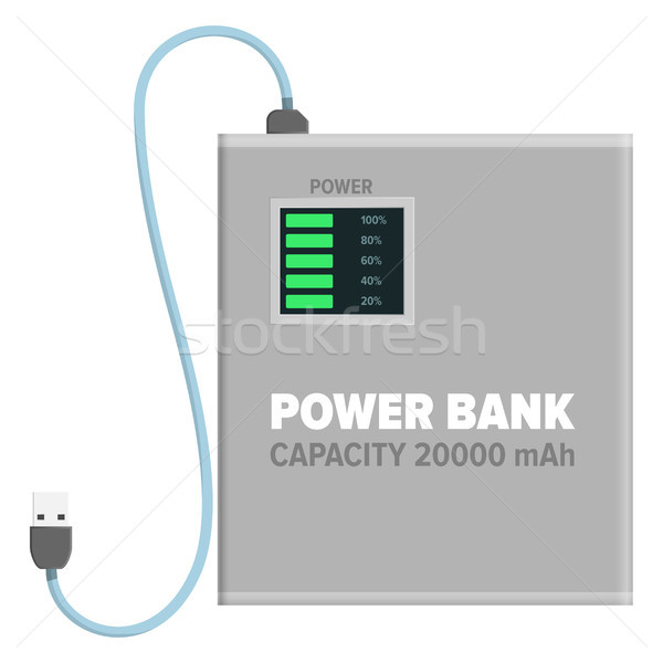 Power Bank For Charging Isolated Illustration Stock photo © robuart